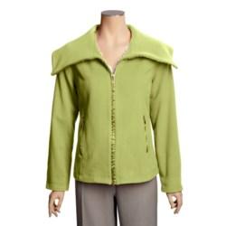 Madison Hill Ultrasoft Wool Jacket - Zip Front (For Women)