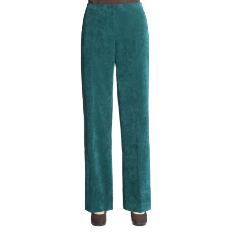 Madison Hill Micro Rib Cord Pants (For Women)