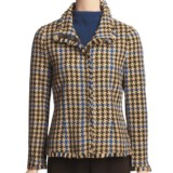 Madison Hill Houndstooth Jacket - Snap Front (For Women)