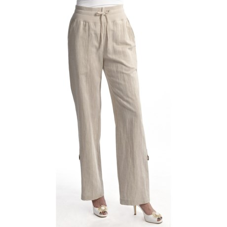 Two Star Dog Santorini Bethany Convert Pants - Linen-Cotton (For Women)