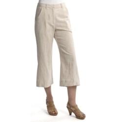Two Star Dog Santorini Ingrid Crop Pants - Linen-Cotton (For Women)