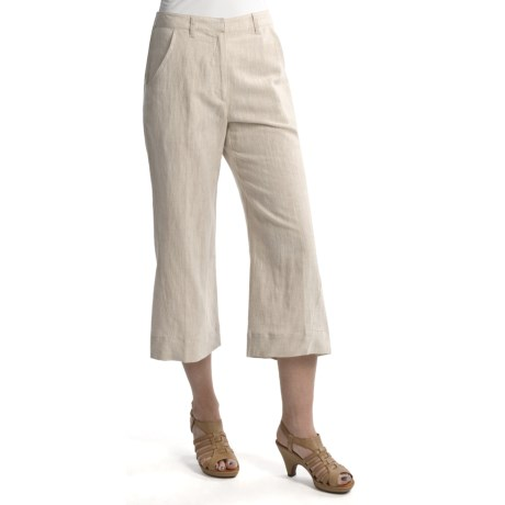 Two Star Dog Santorini Ingrid Crop Pants - Linen-Cotton (For Women)