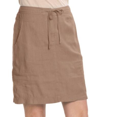 Two Star Dog Ginny Linen Skirt (For Women)