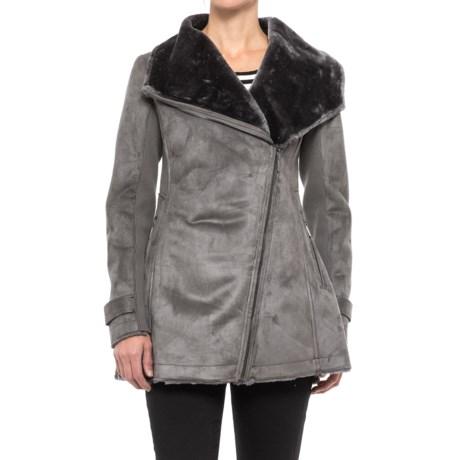 Weatherproof Faux-Shearling Jacket (For Women)