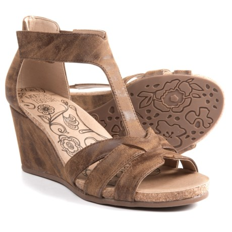 MOOTSIES TOOTSIES Telly Wedge Sandals - Vegan Leather (For Women)