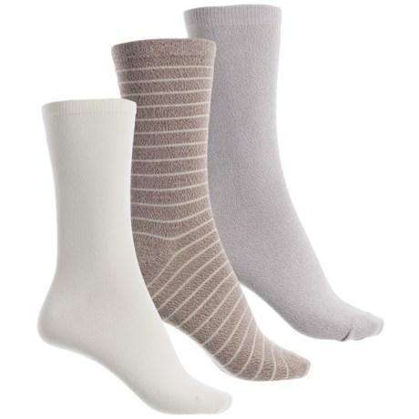 K.Bell K. Bell Soft and Dreamy Socks - 3-Pack, Crew (For Women)