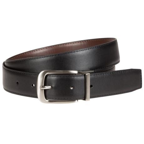 Bill Adler Reversible Feather-Edge Belt - Leather (For Men)