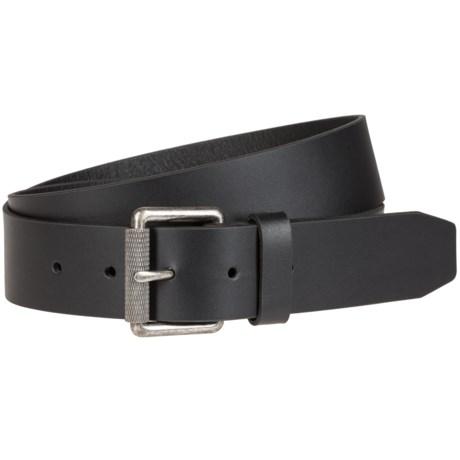 Bill Adler Roller Buckle Leather Belt (For Men)