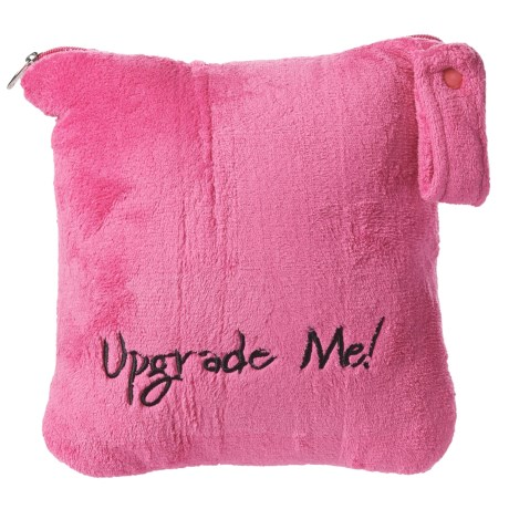 Miamica Upgrade Me Convertible Travel Blanket-Pillow