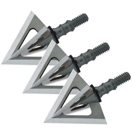 Muzzy Phantom SC Broadheads - Set of 3, 125 Grain