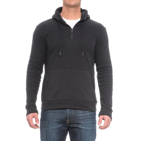 Threads 4 Thought Brenton Hoodie - Organic Cotton Blend, Zip Neck (For Men)