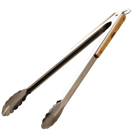 """Lodge Stainless Steel Outdoor Tongs - 18"""""""