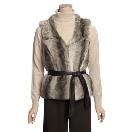 Renuar Faux-Fur Vest (For Women)