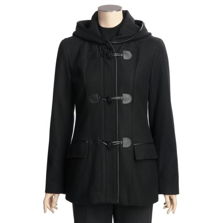 ABS Collection Hooded Duffle Coat (For Women)