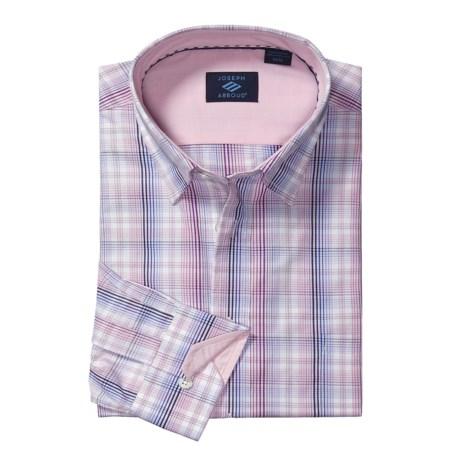 Joseph Abboud Multi-Check Shirt - Hidden Button-Down Collar, Long Sleeve (For Men)