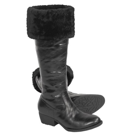 Born Clemens Boots - Leather, Shearling Lined (For Women)