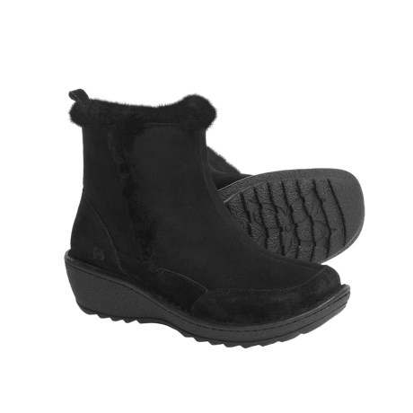 Born Doolin Shearling Lined Ankle Boots (For Women)