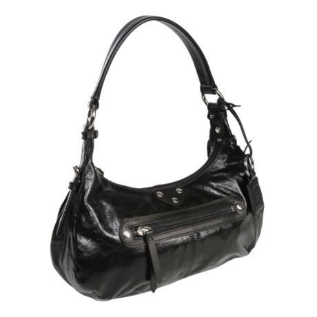 Ellington Bella Shoulder Bag - Glossy Italian Leather