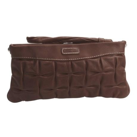 Ellington Hannah Clutch - Italian Leather