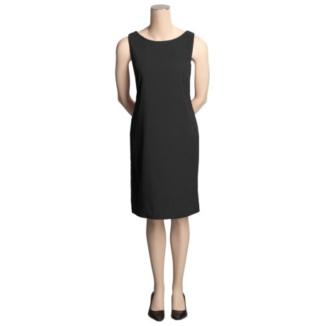 Cotton Moleskin Jumper Dress - Sleeveless (For Women)