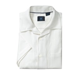 Joseph Abboud Silk-Cotton Sport Shirt - Short Sleeve (For Men)