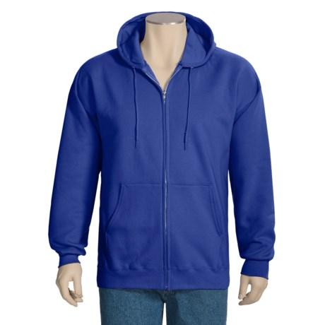 Hanes Ultimate Cotton Hoodie Sweatshirt - Full Zip (For Men and Women)