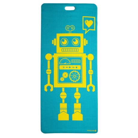 Merrithew Pixel the Robot Yoga and Exercise Mat (For Kids)