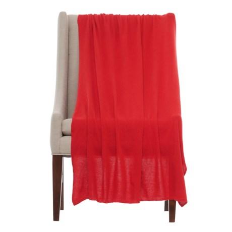 """Portolano Cashmere Blend Throw Blanket- 40x68"""""""