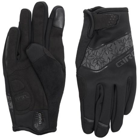 Giro Candela Bike Gloves - Touchscreen Compatible (For Women)