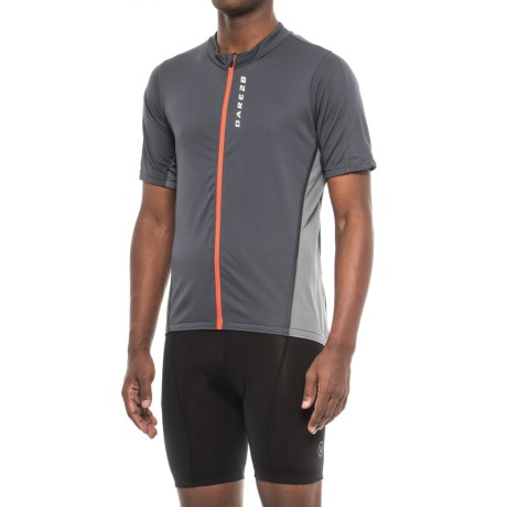 Dare 2b Comeback II Cycling Jersey - Full Zip, Short Sleeve (For Men)