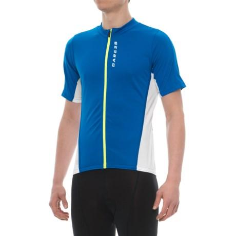 Dare 2b Comeback II Cycling Jersey - Full Zip, Short Sleeve (For Men)