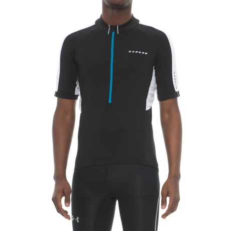 Dare 2b Retribute Cycling Jersey - Zip Neck, Short Sleeve (For Men)