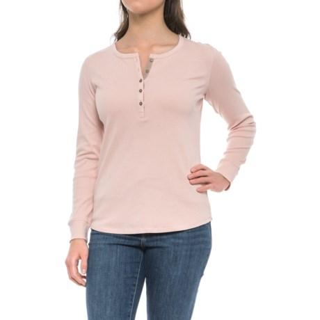 Royal Robbins Kick Back Henley Shirt - UPF 35+, Long Sleeve (For Women)