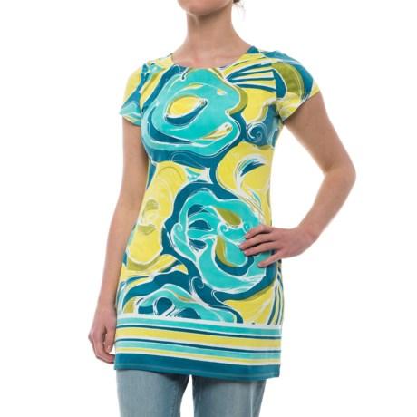 Krimson Klover Summer Breeze Tunic Shirt - Short Sleeve (For Women)