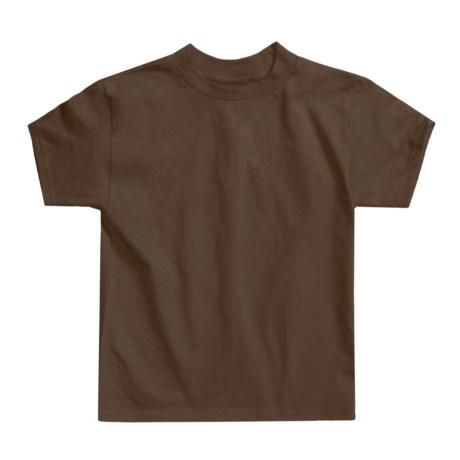 Hanes Authentic Open End T-Shirt - Cotton, Short Sleeve (For Little andBig Kids)