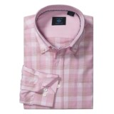 Joseph Abboud Tonal Check Sport Shirt - Cotton, Long Sleeve (For Men)