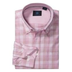 Joseph Abboud Tonal Check Sport Shirt - Cotton, Long Sleeve (For Men)