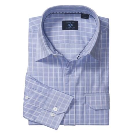 Joseph Abboud Cotton Sport Shirt - Long Roll-Up Sleeve (For Men)
