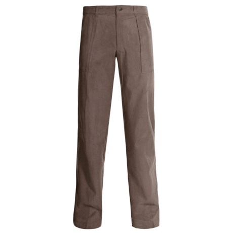Bugatchi Uomo Silk-Cotton Pants (For Men)