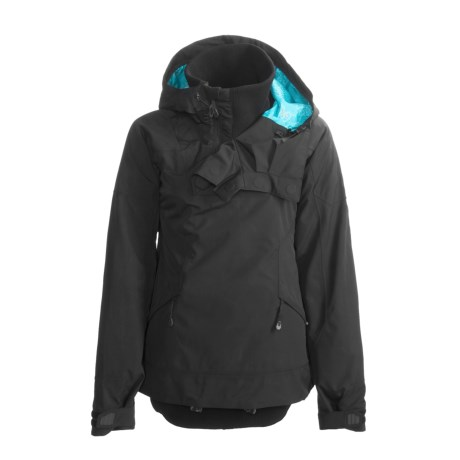 Oakley State Ski Jacket - Waterproof, Insulated, Zip Neck (For Women)