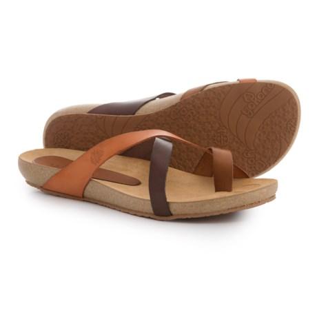 Yokono Made in Spain Ibiza 500 Sandals - Brown Leather (For Women)