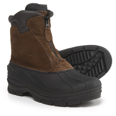 totes Glacier Front-Zip Pac Boots - Waterproof, Insulated (For Men)