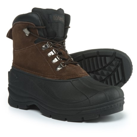 totes Glacier Lace-Front Pac Boots - Waterproof, Insulated (For Men)