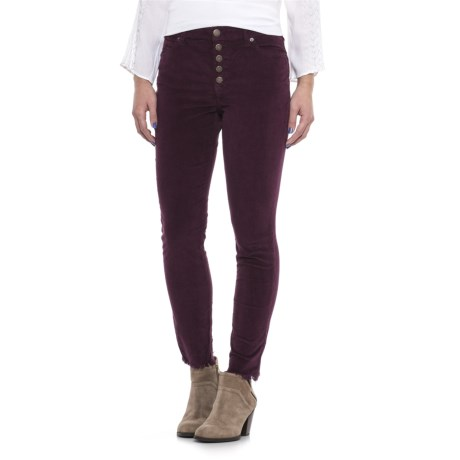 Free People Reagan Raw Jean Corduroy Pants - Mid Rise (For Women)
