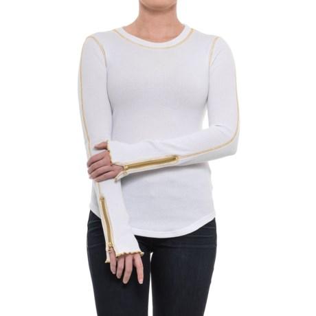 Free People Zip It Cuff Shirt - Long Sleeve (For Women)