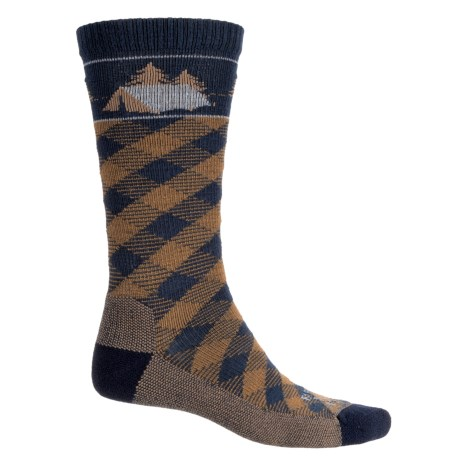 Farm to Feet Franklin Camp Everyday Socks - Merino Wool, Crew (For Men)