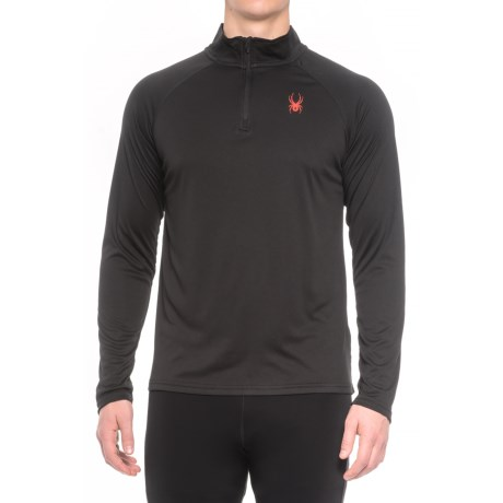 Spyder Active DryWEB Shirt - Zip Neck, Long Sleeve (For Men)