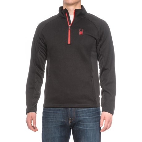 Spyder Bonded Fleece Jacket - Zip Neck (For Men)