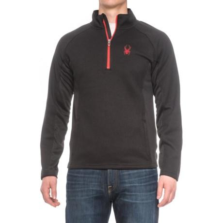 Spyder Bonded Fleece Jacket - Zip Neck (For Men)