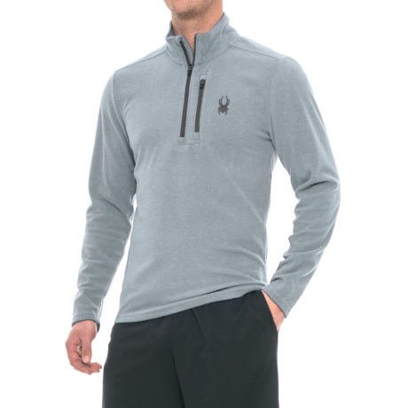 Spyder Microfleece Shirt - Zip Neck, Long Sleeve (For Men)